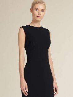 Dkny Picstitch Sheath Dress Donna Karan Dresses For Sale Sheath Dress Crew Neck