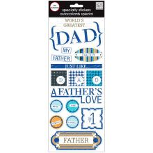 MAMBI Soft Spoken Embellishments, Dad
