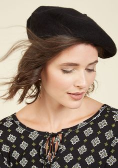 The One in the Beret Hat in Noir. Finding your friends in a crowd can be a…