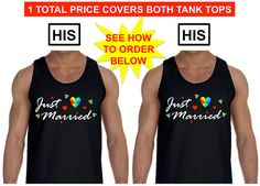 GAY WEDDING GIFT His and His Just Married Gay by ShopLGBTQ on Etsy