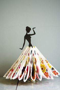 Servietta by Happymeat, via Flickr  I don't use paper napkins but might if I could find a display like this!
