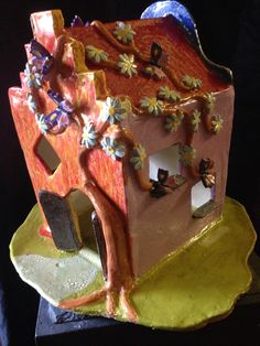 Ceramic house, keramiek huis