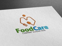Food Care Logo by Creative Dezing on @creativemarket
