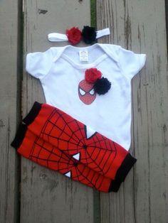 Spiderman Girl Onesie - Spider Girl - Super Hero - Baby Shower - Halloween - Birthday - 2T, 3T, 4T, 5T on Etsy, $20.00 - Visit to grab an amazing super hero shirt now on sale!