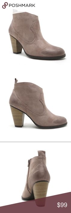 """Taupe western booties--Coming Soon - please share These are so adorable and trendy this fall! I will en carrying sizes 5.5-10! Leatherette upper (man made materials), 3 1/4"""" heel height, fits true to size. This item will be priced upon arrival (likely around $30-$35). Please like this listing to be notified when these babies arrive! Shoes Ankle Boots & Booties"""