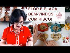 TOTÓ CACHORRO PINTURA COUNTRY (com molde) Pintando Com o ❤ #35 Penduricalho MDF by Tânia Marquato - YouTube
