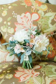 Romantic New York Wedding at Sleepy Hollow Country Club from CLY by Matthew - bridal bouquet