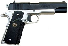 pistol series - Internet Movie Firearms Database - Guns in Movies, TV and Video Games M1911 Pistol, Custom 1911, 1911 Grips, Springfield Armory, Shots Fired, 45 Acp, Home Protection, Internet Movies, Guns And Ammo