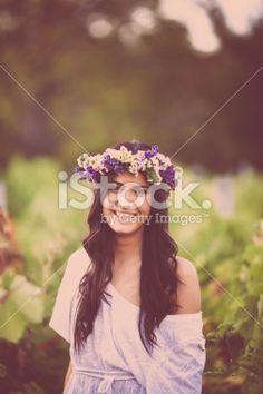 Smiling retro beauty Royalty Free Stock Photo