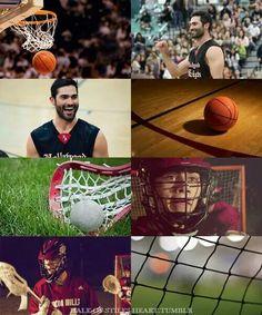 Basketball or lacross?...