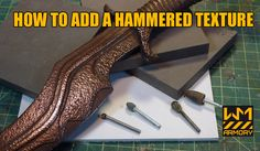 Nice set of tutorials on prop making with EVA foam, plus a few new articles on cold casting metal for props. Snk Cosplay, Cosplay Weapons, Cosplay Armor, Steampunk Cosplay, Cosplay Diy, Best Cosplay, Cosplay Ideas, Costume Ideas, Costume Tutorial