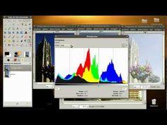 021 tutorial de GIMP - el histograma.avi - YouTube