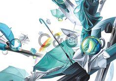 기초디자인 / 입시 / 연구작 / 사실표현 / 우산 / 비누방울