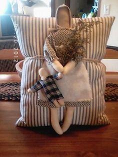 Prairie dolls on Pillow