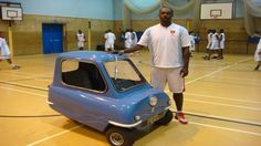 Have a look at World's Smallest Car.This car is made in a small factory on Britain's tiny Isle of Man in 1962,