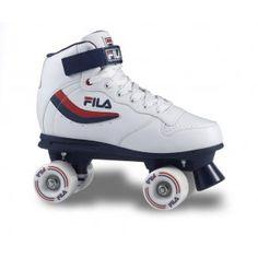 Rollers quad FILA Roller Quad ACE Bleu Blanc Rouge