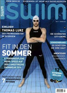 Sehr cooler Schwimmer, jo ;) Gefunden in: SWIM Nr. 7/2014