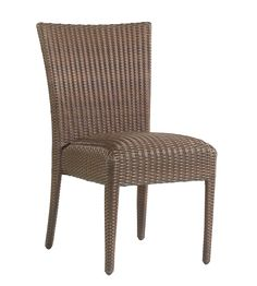 All Weather Padded Seat Dining Side Chair