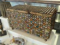 Bottle cap chest - Museum of International Folk Art