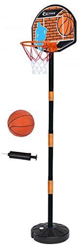 Simba Basketballset mit Basketballständer, Korb, Ball und... https://www.amazon.de/dp/B00F41HO8G/ref=cm_sw_r_pi_dp_We-sxbFDQMF79