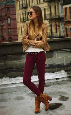 бордовые джинсы с чем носить: 16 тыс изображений найдено в Яндекс.Картинках