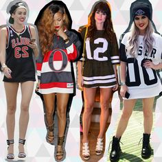 Camisa Esportiva | Sports Tee | Number Tee | T-shirt | Miley Cyrus | Rihanna | Thaila Ayala | Perrie Edwards | http://cademeuchapeu.com