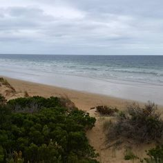 Where my weekend was spent..    #ocean #beach #autumn #torquay #greatoceanroad by cowboy_claire