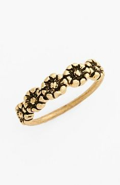 sun flower midi ring / nordstrom