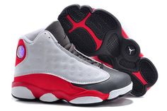 0adf0ceb46ef73 Buy Kids Jordan 13 Retro Grey Toe 2014 White Team Red Flint Grey Super  Deals from Reliable Kids Jordan 13 Retro Grey Toe 2014 White Team Red Flint  Grey ...