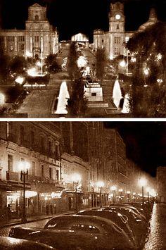 Porto Alegre e a Nova Iluminação Pública em 1938