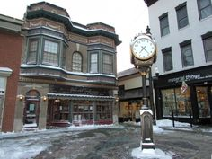 Image result for downtown woodstock vt