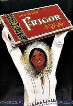 Frigor chocolate ~ Alois Carigiet