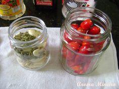 Aroma Mineiro : Conserva de Pimenta e Alho com Ervas