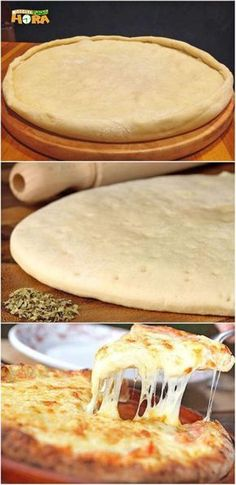 Toasts of tarama - Clean Eating Snacks Quick Recipes, Pizza Recipes, Cooking Recipes, Pizza Fruit, Comida Pizza, Four A Pizza, Good Food, Yummy Food, Pizza Dough