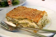 Ahhhh...boureki! Zucchini pie, a specialty of Chania
