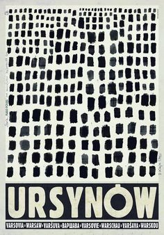 Ursynow - one million windows Milon okien Ursynowa Check also other posters from PLAKAT-POLSKA series Original Polish poster designer: Ryszard Kaja year: 2012 size: Art Deco Posters, Vintage Posters, Poster S, Poster Prints, Gfx Design, Polish Posters, Typography Inspiration, Illustrations And Posters, Grafik Design