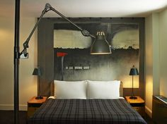 The Ace Hotel NY Guest Rooms | Roman and Williams