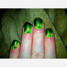 St.Pattys Day Nails