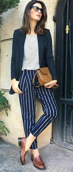 10 formas en las que puedes usar pantalones formales sin verte como señora - Mujer de 10