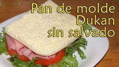 Dieta Dukan   Contigo paso a paso. Recetas, información y guia.: PAN DE MOLDE DUKAN SIN SALVADOS - RECETA FASE ATAQ...