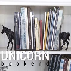 "@3dshook's photo: ""The one place where unicorns definitely exist are books. Decorate your shelves with this mythical bookends. #3dprinting #3dprinted #3dshook #books #bookworm #library #book #unicorn #bookends #shelves #instagood #hobby #diy #home #homedecor #interiordesign"""