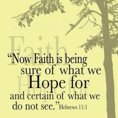 Hebrews 11:1