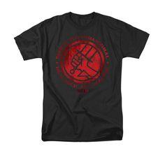 Hellboy BPRD Classic Logo Mens T-Shirt