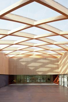 Gallery - Berluti Manufacture / Barthélémy Griño Architectes - 17 ⊚ pinned by www. Detail Architecture, Timber Architecture, Amazing Architecture, Canopy Architecture, Ancient Architecture, Sustainable Architecture, Landscape Architecture, Roof Design, Ceiling Design