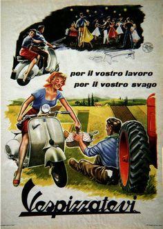 vintage vespa ads - Google Search