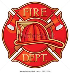 Fire Department or Firefighters Maltese Cross Symbol by Tribalium, via ShutterStock
