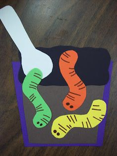 Chalk Talk: A Kindergarten Blog: Worm Day, A Writing Planner, and Sequenced Worm Stories