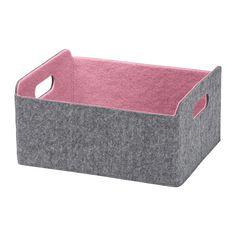 BESTÅ Box - pink - IKEA