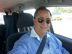 Carlos Rosso on his way to Old San Juan