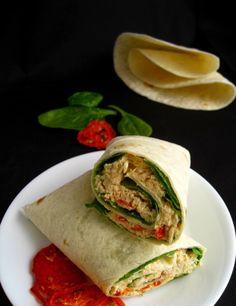 Spicy Tuna Avocado Melt Wrap